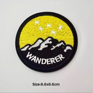 Accessories - Wanderer Outdoors Iron On Embroidered Patch
